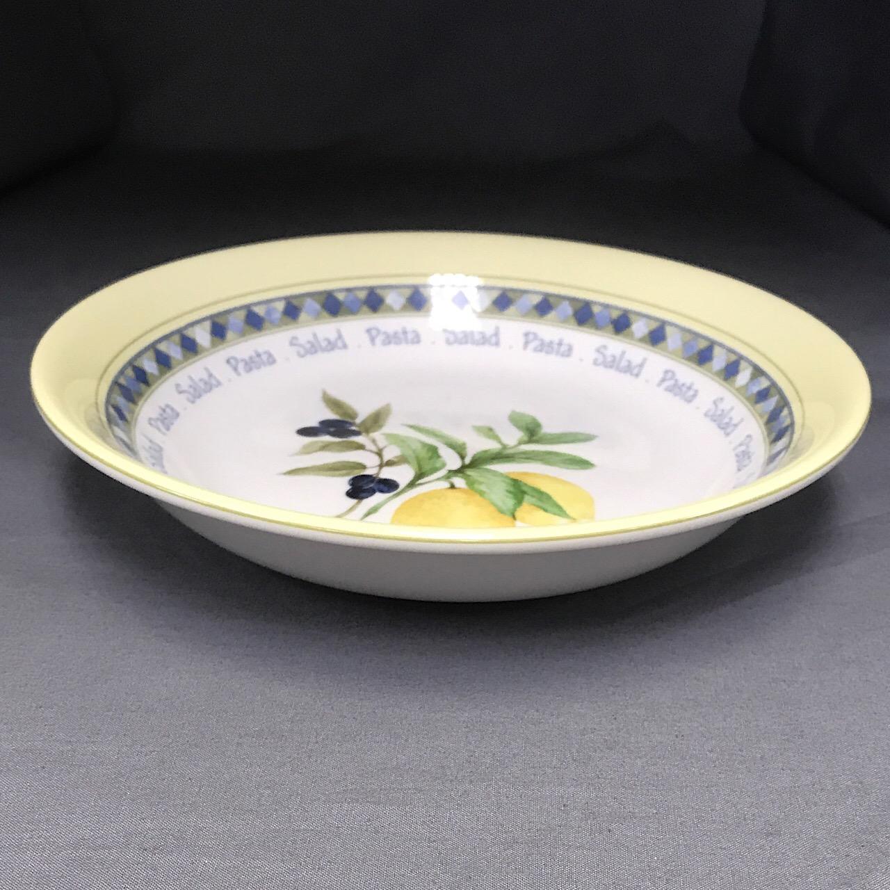 Royal Doulton Carmina Large Pasta Serving Bowl Echo S China